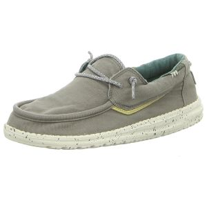 Schnürschuhe - Hey Dude - Welsh Washed - washed grey