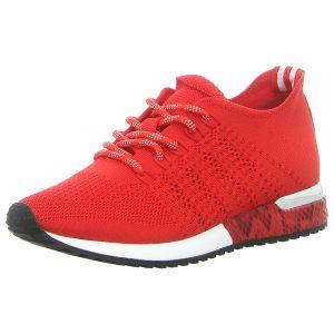 Sneaker - La Strada - knitted red