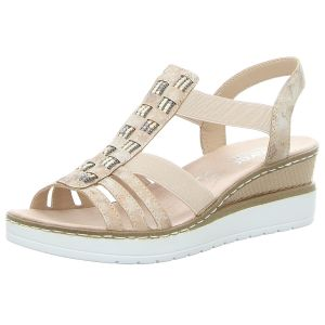Sandaletten - Rieker - rosa