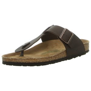 Zehentrenner - Birkenstock - Medina - saddle matt brown