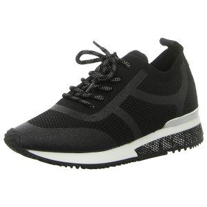Sneaker - La Strada - black knitted