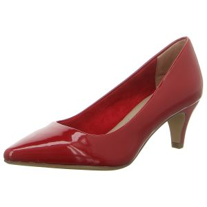 Pumps - Tamaris - cherry patent