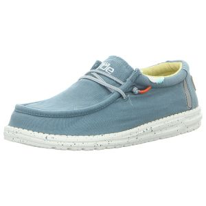 Schnürschuhe - Hey Dude - Wally Washed - blue stone yellow