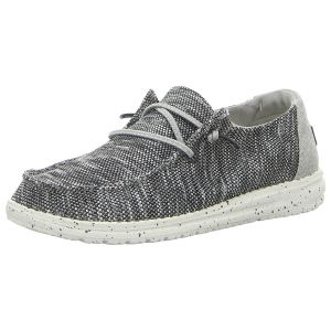 Schnürschuhe - Hey Dude - Wendy Sox - dark grey