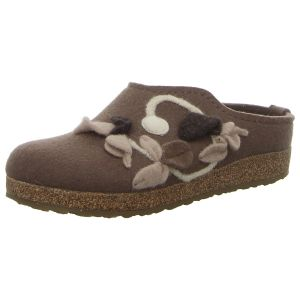 Hausschuhe - Haflinger - Grizzly Venus - taupe
