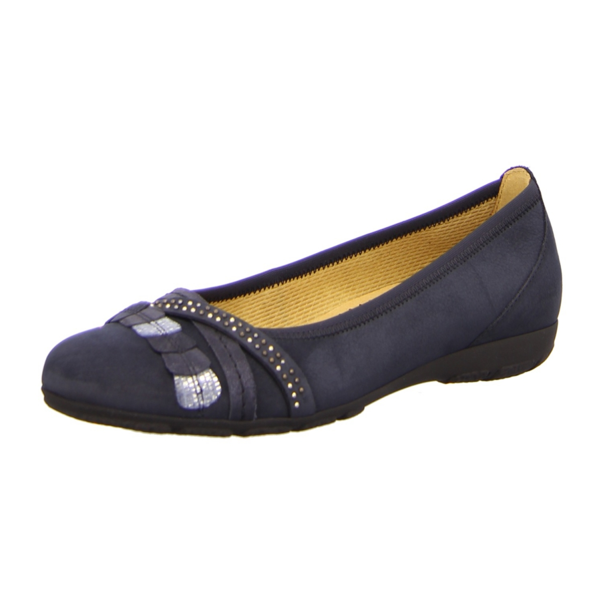 gabor shoes damen fashion geschlossene ballerinas blau pazifik 16 43 eu 9 uk. Black Bedroom Furniture Sets. Home Design Ideas