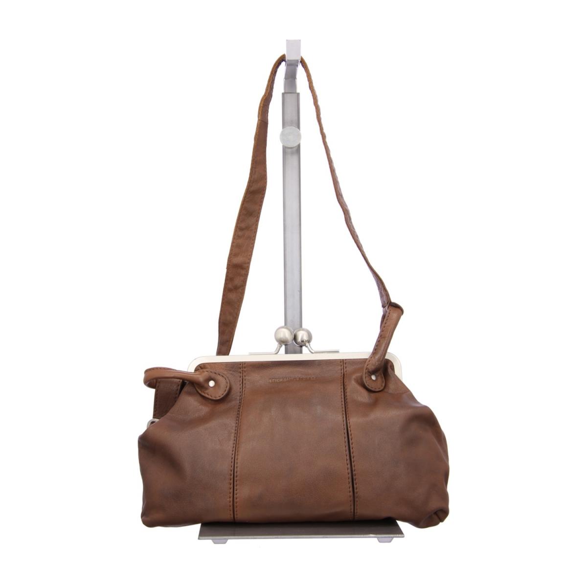 sticks and stones toulouse bag handtasche braun. Black Bedroom Furniture Sets. Home Design Ideas