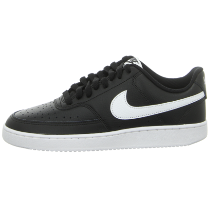 Sneaker - Nike - Court Vision Lo - black/white-photon dust