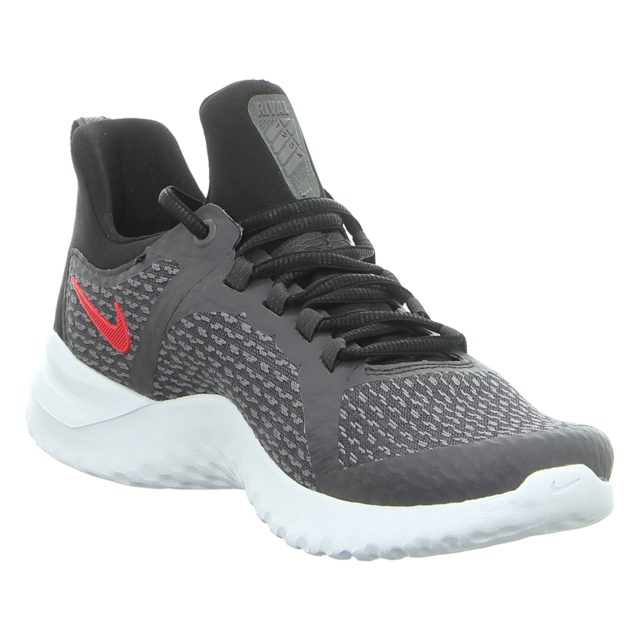 Nike - AA7400 005 - Renew Rival Men's Running - thunder grey/brightcrimson-black - Sneaker