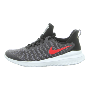 Sneaker - Nike - Renew Rival Men's Running - thunder grey/brightcrimson-black