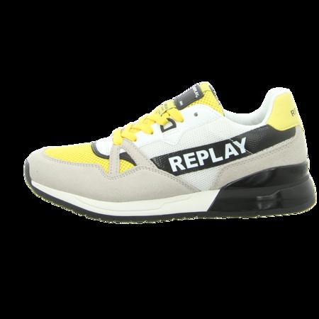 Sneaker - Replay - Kenmare - white yellow