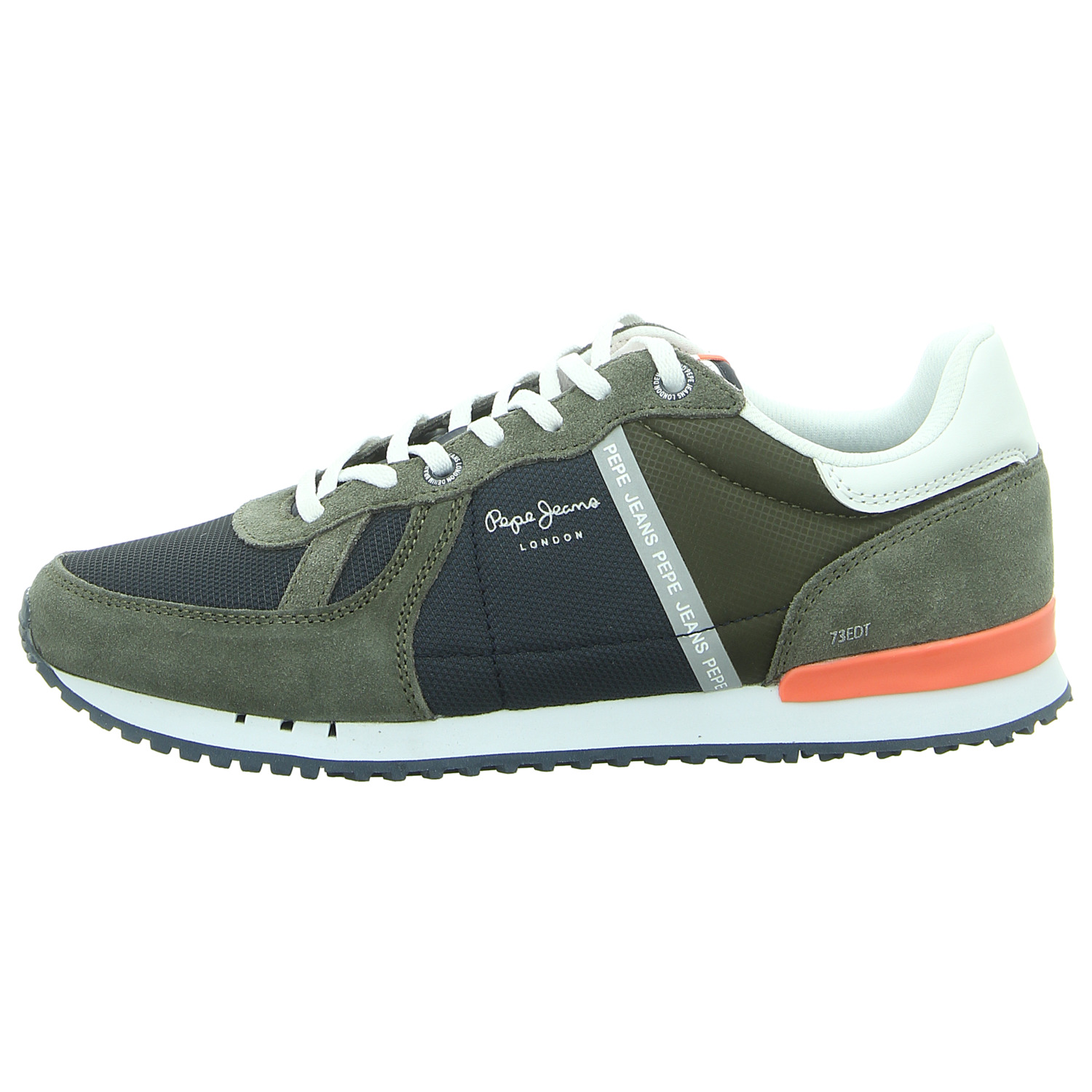 Pepe Jeans Herren Sneaker Industry Has No Limits in schwarz