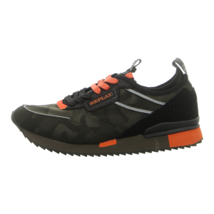 Sneaker - Replay - Stone Wall - mil grn orange