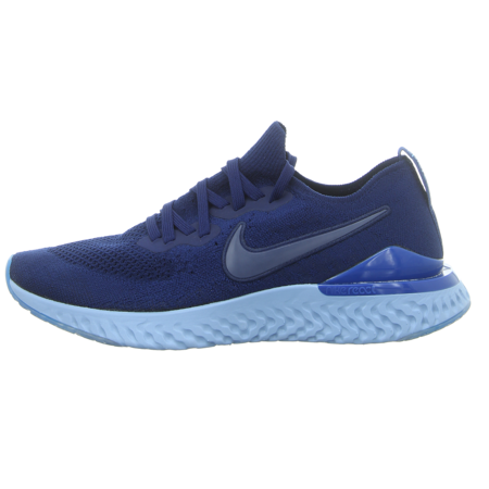Sneaker - Nike - Epic React Flyknit 2 - blue void/blue void-indigo for
