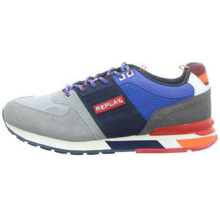 Sneaker - Replay - Hunter - lt grey navy