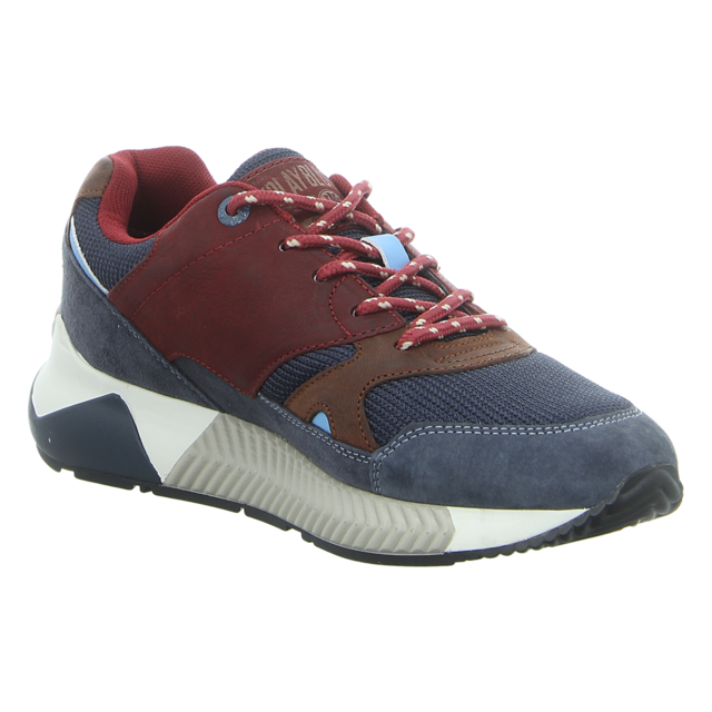 Replay - GMS83.000.C0010L-2737 - Cunnayer - navy burgundy cuoio - Sneaker