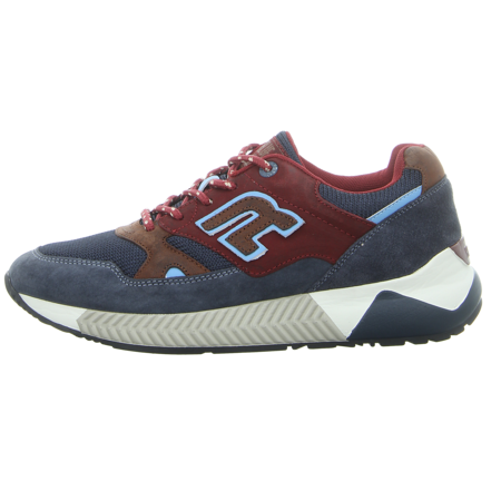 Sneaker - Replay - Cunnayer - navy burgundy cuoio