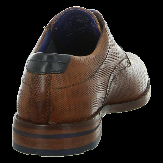 Bugatti Herren Schuhe Schnürschuhe Cognac braun 312 64502 3000 6300
