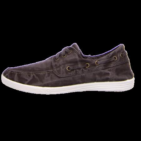 Sneaker - Natural World - Nautico Enzimatico - negro enzimatico