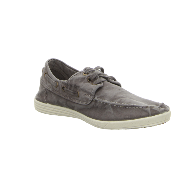Natural World - 303E-623 - Nautico Enzimatico - gris enzimatico - Sneaker