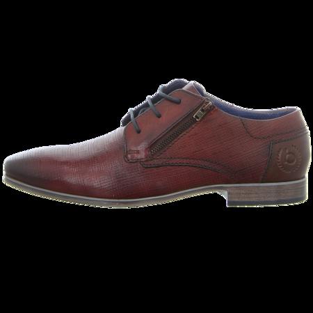Business-Schuhe - Bugatti - Morino I - red / cognac
