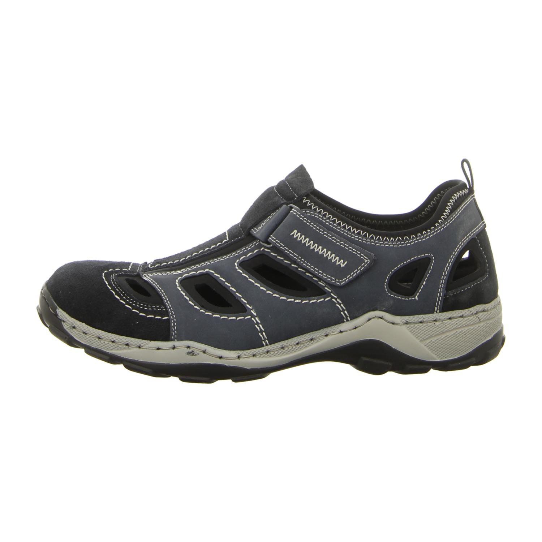 Rieker SLIPPER Sneaker Herren SCHUHE blau 08075 14 EU 45
