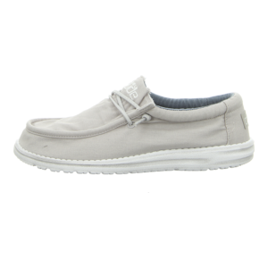 Schnürschuhe - Hey Dude - Wally Washed - artic white