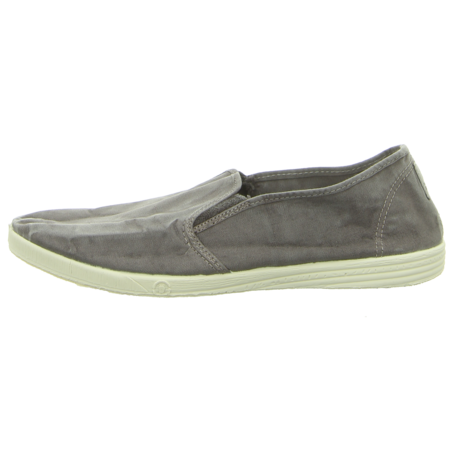 Slipper - Natural World - Cangrejo 2ElasticosTintado - gris enzimatico