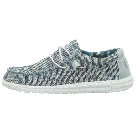 Schnürschuhe - Hey Dude - Wally Sox - ice grey