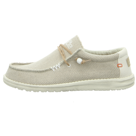 Schnürschuhe - Hey Dude - Wally Braided - off white