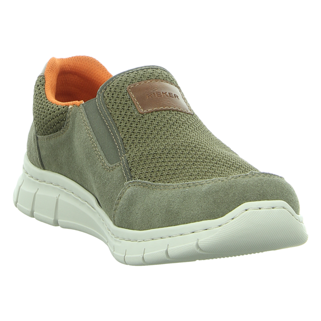 Rieker Herren Sneaker grün B7758 55