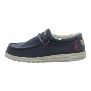 Schnürschuhe - Hey Dude - Wally Washed - blue space