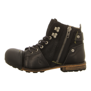 Stiefeletten - Yellow Cab - Industrial - black