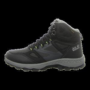 Outdoor-Schuhe - Jack Wolfskin - DOWNHILL MID M - black / grey