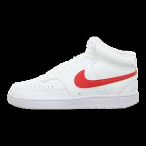 Sneaker - Nike - Court Vision Mid Men - white/university red