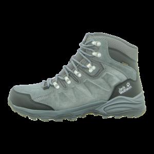 Outdoor-Schuhe - Jack Wolfskin - Refugio Mid M - grey / black