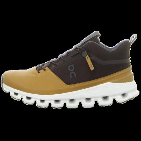 Sneaker - ON - Cloud Hi - umber caramel