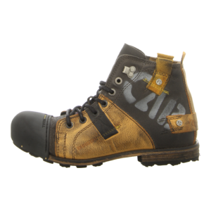 Stiefeletten - Yellow Cab - Industrial - yellow black