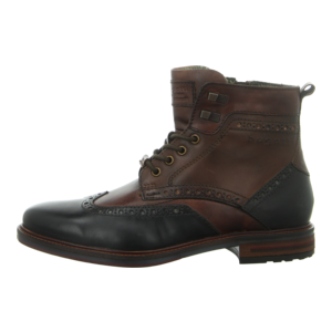 Stiefeletten - Bugatti - Marcello - dark grey/brown