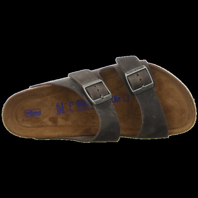 Birkenstock - 0552801 - Arizona - iron - Pantoletten