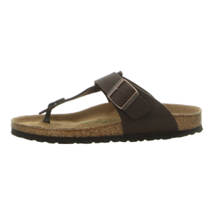 Zehentrenner - Birkenstock - Medina - saddle matt brown