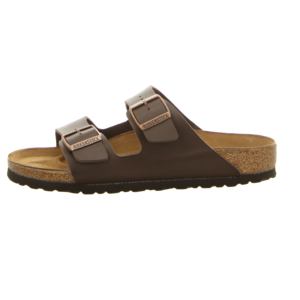 Pantoletten - Birkenstock - Arizona - dark brown