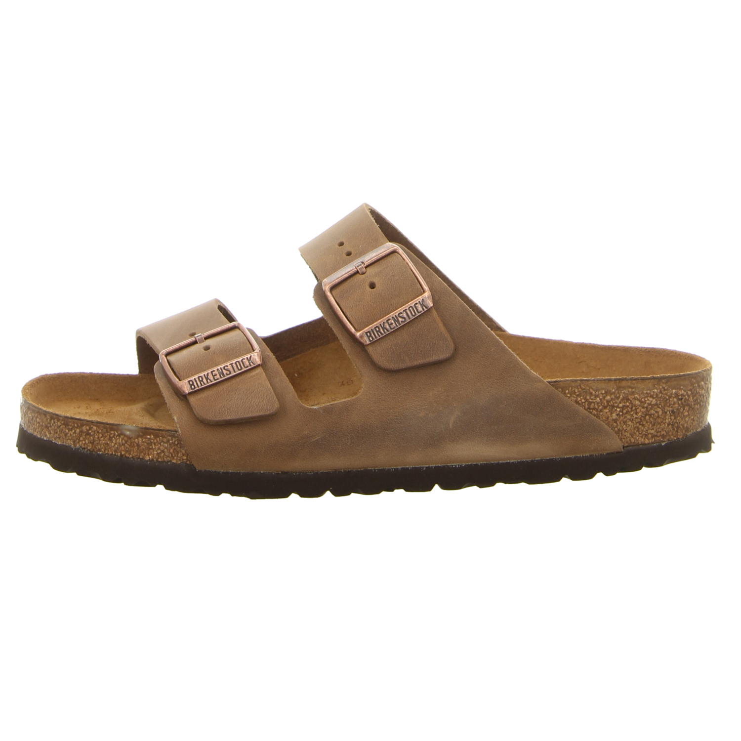 birkenstock herren pantolette arizona in braun schuhfachmann. Black Bedroom Furniture Sets. Home Design Ideas