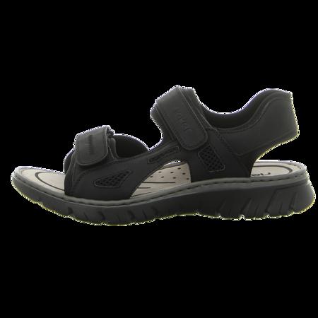 Sandalen - Rieker - grau kombi