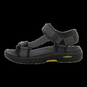 Sandalen - Skechers - Lomell Rip Tide - black & gray