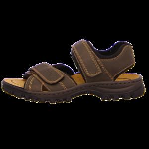 Sandalen - Rieker - braun kombi