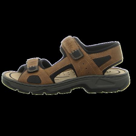 Sandaletten - Rieker - braun kombi