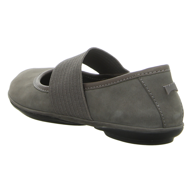 Camper - 21595-143 - Right Nina - grey - Ballerinas