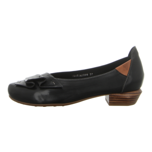 Ballerinas - Everybody - Gossy - black+cuoio