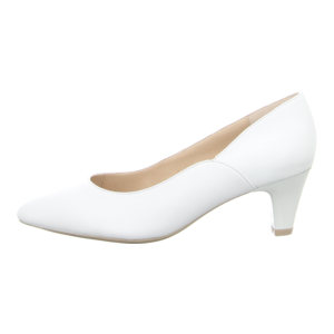 Pumps - Caprice - white nappa
